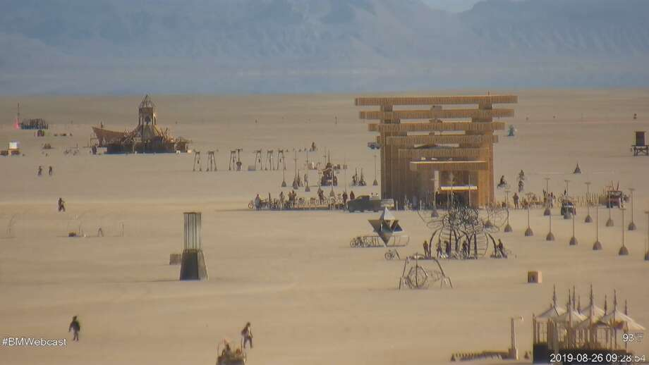 FILE — Burning Man's 2019 live webcam captures the scene on the Playa in Nevada's Black Rock Desert. A man was pronounced dead in the Black Rock Desert Thursday. Photo: Burning Man