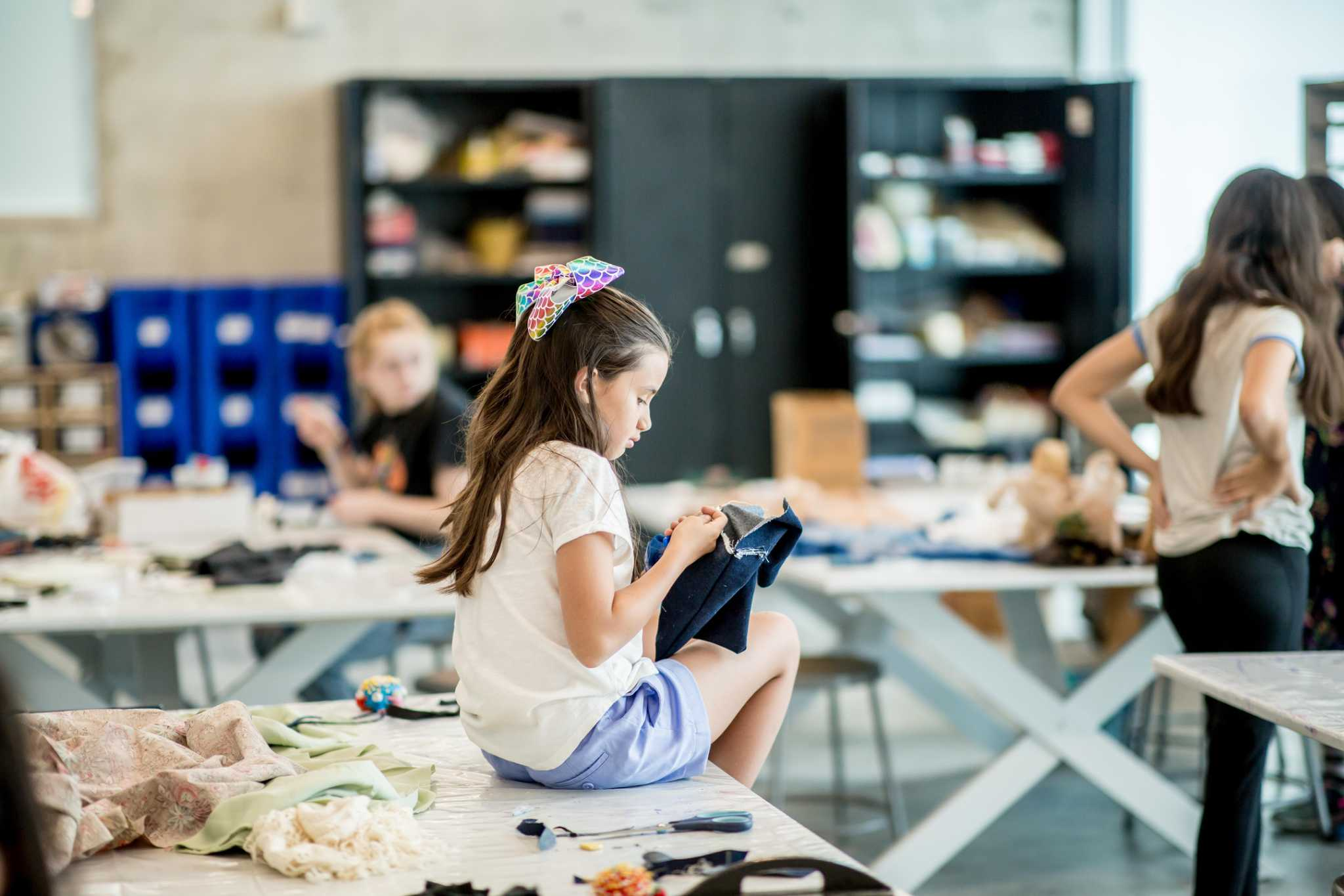 Glassell fashion classes for young expand