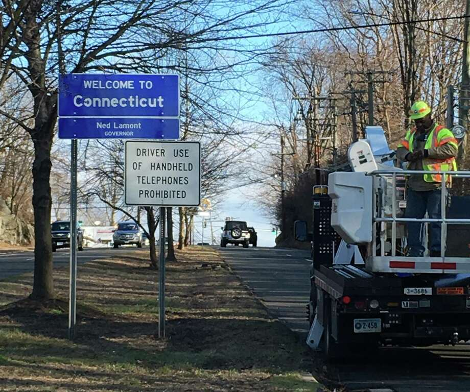 The state Bond Commission chaired by Gov. Ned Lamont has not released about $90 million in funds for municipal roads and local improvement projects. Photo: Karen Tensa / Hearst Connecticut Media / Greenwich Time