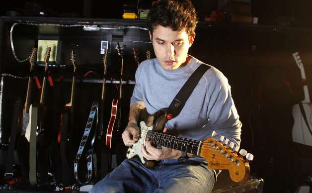 In this Nov. 14, 2009, photo, musician John Mayer is shown during a rehearsal in New York. (Carlo Allegri / Associated Press) Photo: Carlo Allegri / R-Allegri