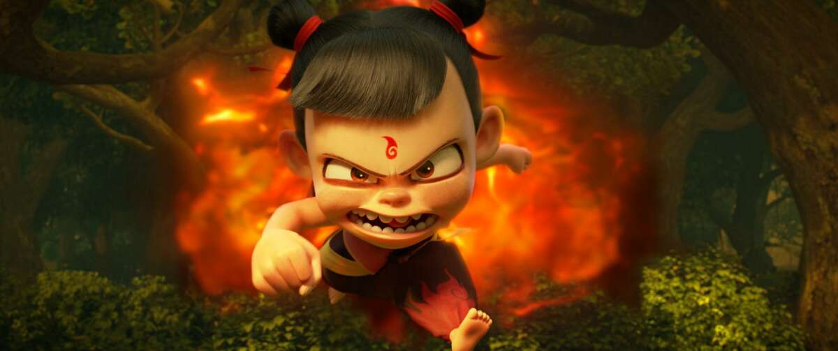 A still from the Chinese animated film
