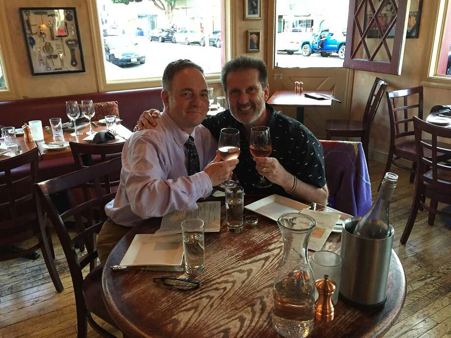 Dinner with Brian at Le P'tit Laurent. Photo: Kevin Fisher-Paulson