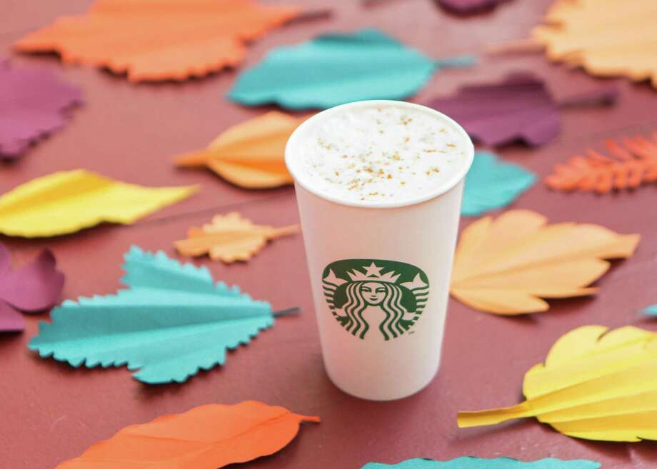 Starbucks' pumpkin spice latte started 16 years ago as a flavor innovation from the coffee shop's espresso team and has morphed into a cultural lightning rod in a white-and-green cup. Photo: Starbucks, Contributed / Contributed Photo / Connecticut Post contributed