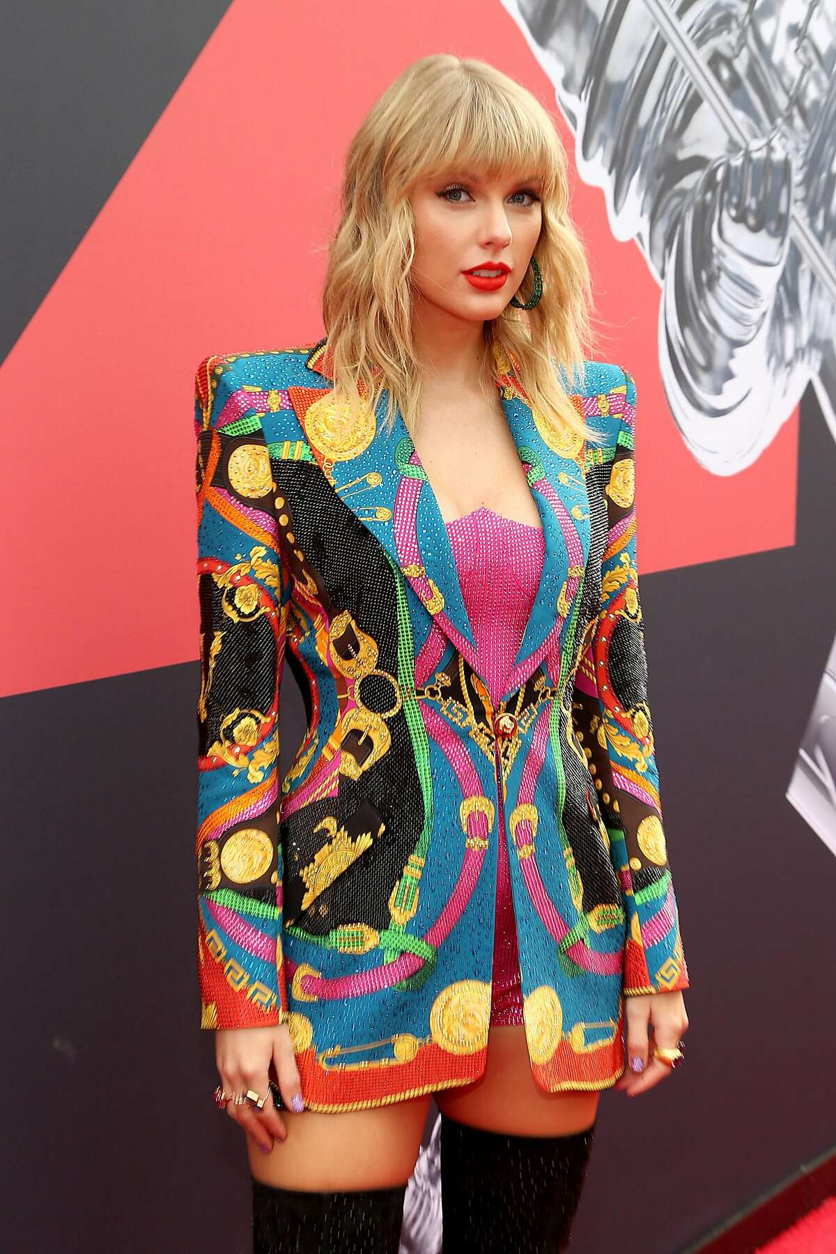 Taylor Swift attends the 2019 MTV Video Music Awards at Prudential Center on August 26, 2019 in Newark, New Jersey. (Photo by Manny Carabel/Getty Images for Viacom)