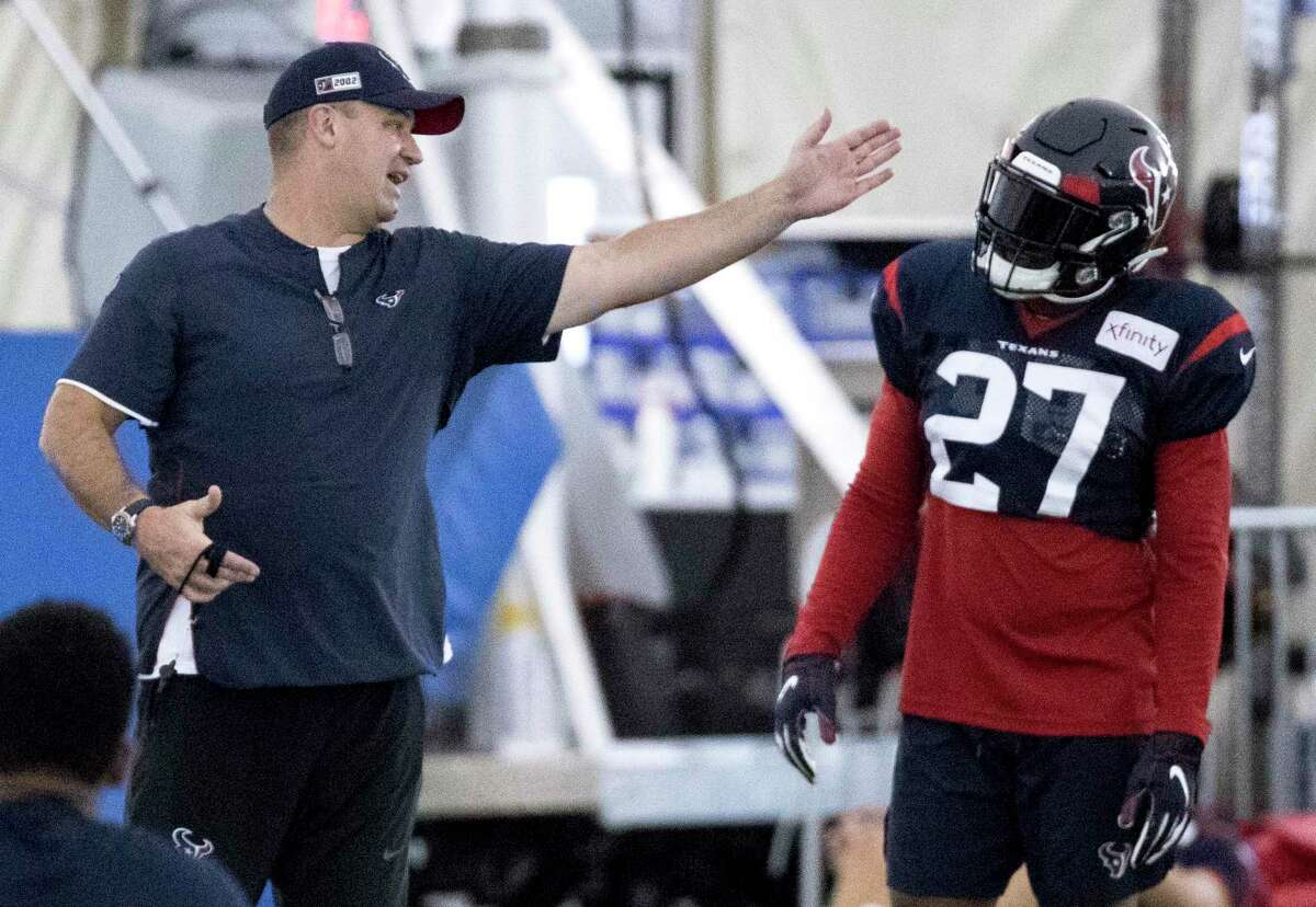 Bill O'Brien introduced Duke Johnson to the Texans offense last season. The coach will do the same with David Johnson, starting Friday when the team puts on pads for the first time.