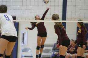 Several teams participated in the Hatchet Invitational volleyball tournament Aug. 24 in Bad Axe.