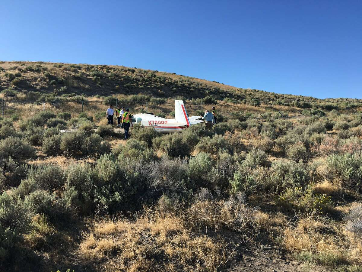 Three people who were coming from Burning Man were taken to the hospital after being in a small plane that crashed near the Reno-Stead airport on Tuesday, August 27, the second day of the festival, according to multiple reports.