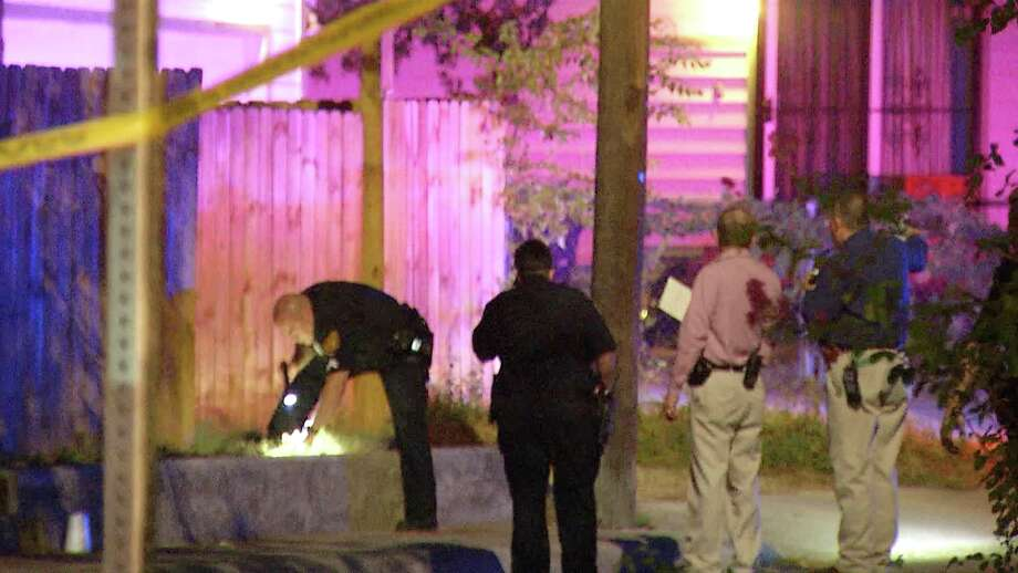 A man, believed to be in his 30s, was fatally shot by another man on the city's East Side Monday evening, San Antonio police said.  Photo: Ken Branca