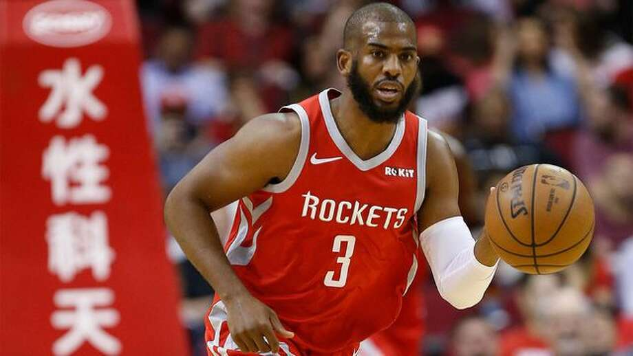 NBA star Chris Paul is dribbling away from his Houston, TX, home. After being traded to the Oklahoma City Thunder, he's leaving this mansion behind. Photo: Bob Levey/Getty Images