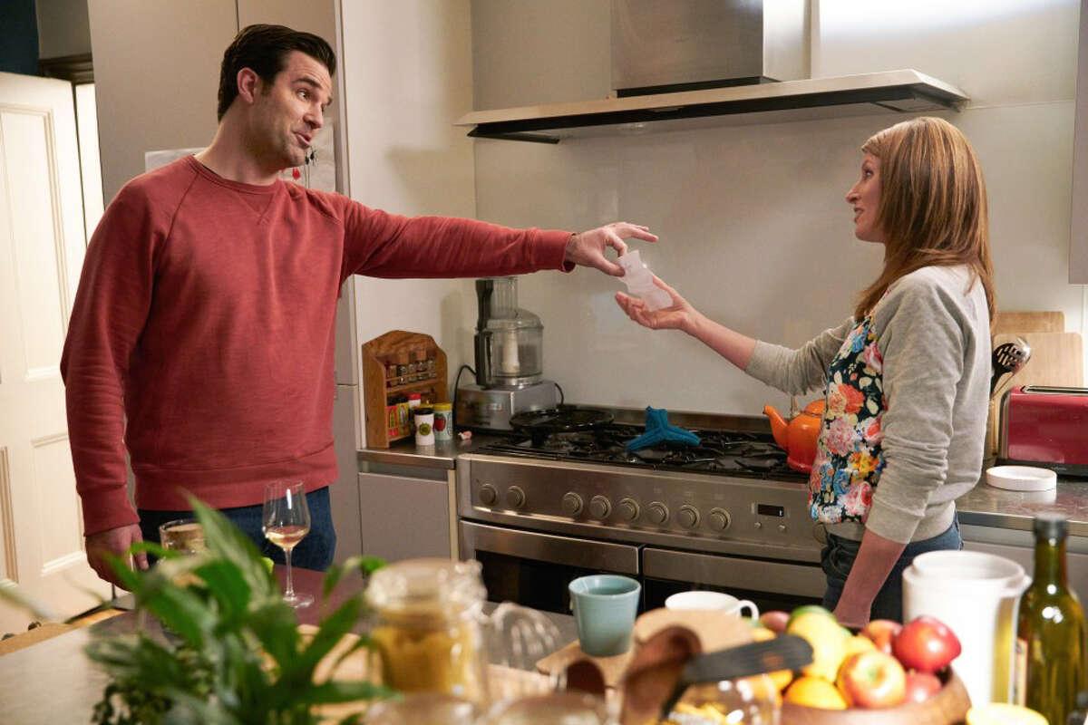 Sharon Horgan and Rob Delaney in season three of