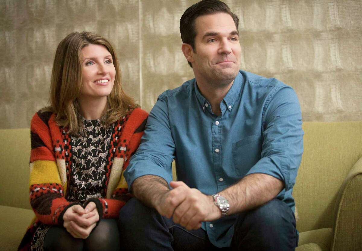 Rob Delaney and Sharon Horgan in
