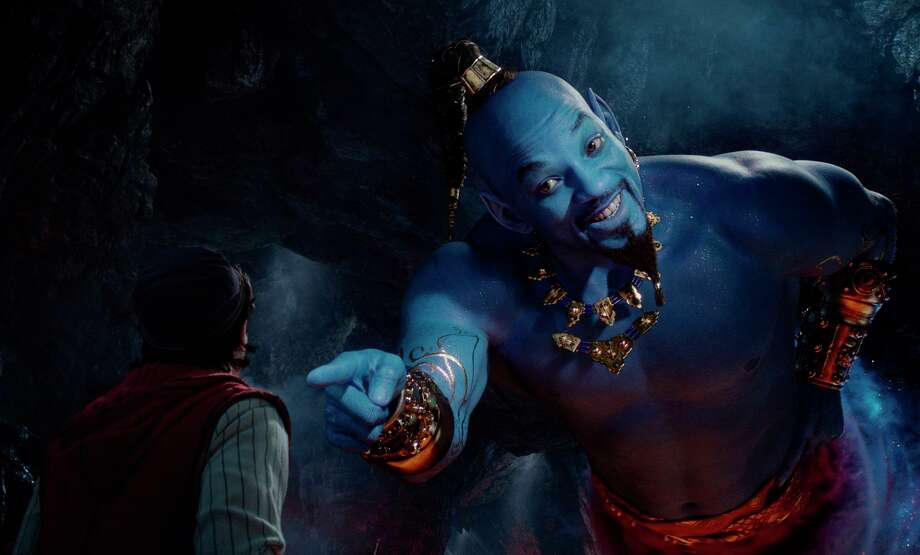 "Will Smith as Genie helped make Disney's live-action ""Aladdin"" a hit. Photo: Disney / Disney"