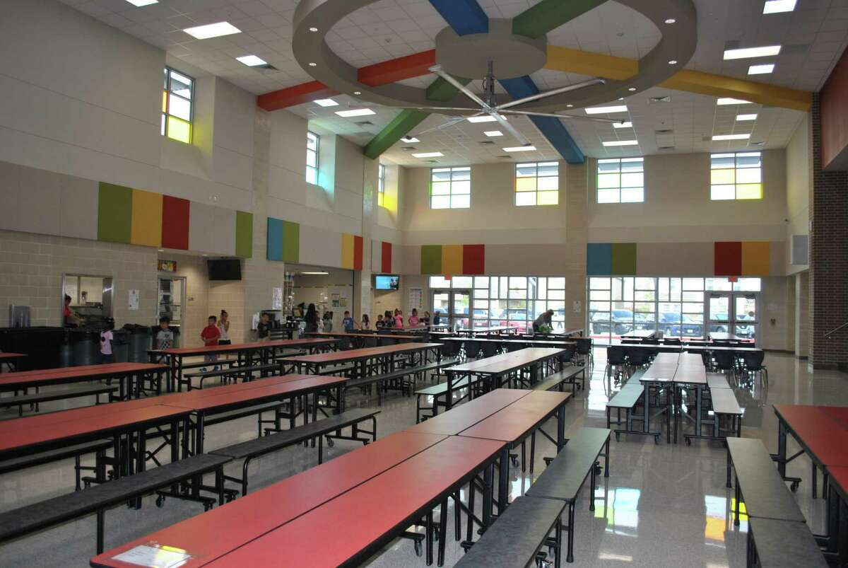 Sanchez Elementary School, which cost almost $17.6 million to build, has 51 teachers and about 740 students and is south of Iowa Colony near FM 288 at 1721 Sterling Lakes Drive in Rosharon.