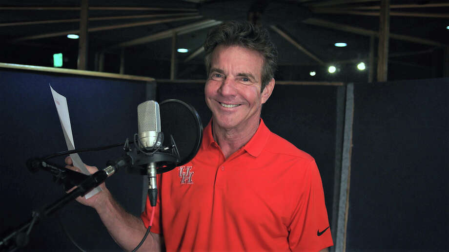 PHOTOS: Dennis Quaid makes a cameo in the University of Houston's new national commercial.>>> See more on actor and University of Houston alumnus the Dennis Quaid ... Photo: Courtesy