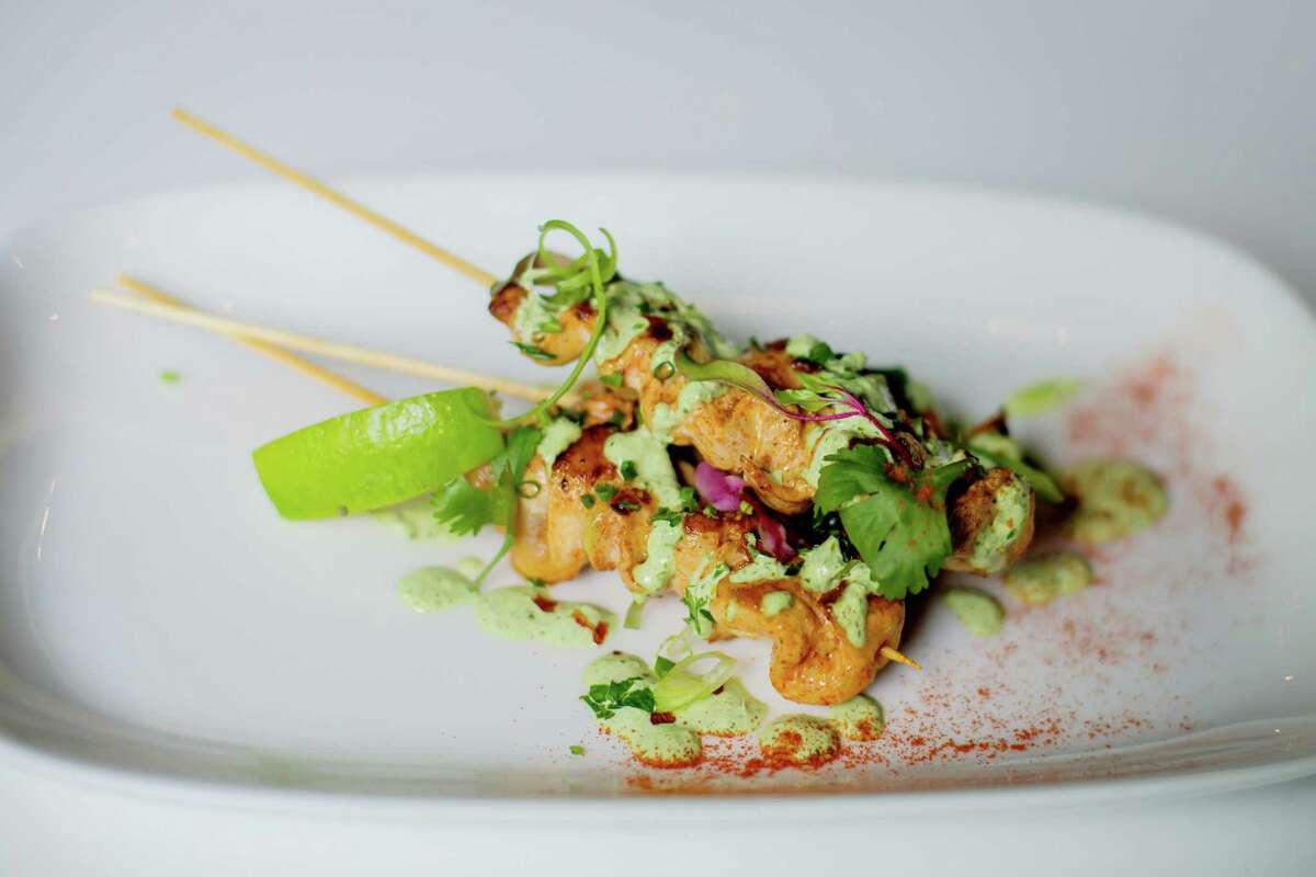 Peruvian chicken skewers at Daley's on Yates in Schenectady. (Daley's on Yates photo.)