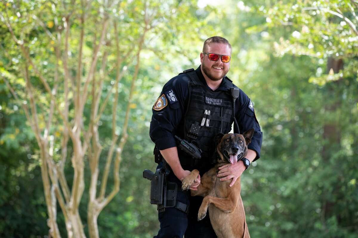 K9: Kade Handler: Deputy Johnny Sampson Type: Patrol/Narcotics Age: 8 Breed: Belgian Malinois Bio: Kade loves playing with tennis balls and his Kong. Kade's favorite time of the day is when he loads up to go to work.