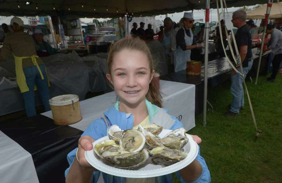 The Norwalk Seaport Association Oyster Festival runs Sept. 6 from 6-11 p.m., Sept. 7 from 11 a.m.-11 p.m. and Sept. 8 from11 a.m.-8 p.m. at Veteran's Park, 42 Seaview Avenue, Norwalk. Admission is $5-$12. For more information, visit seaport.org. Photo: Erik Trautmann / Hearst Connecticut Media / Connecticut Post