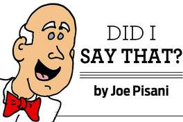 Joe Pisani wonders if tiny aliens are hiding in his pockets.