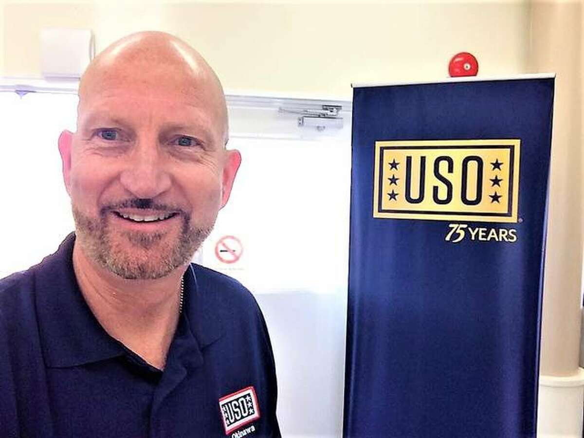 Phil VanEtten is USO Director in Okinawa, Japan. The former resident has returned to the area for the Bethalto Homecoming this week.