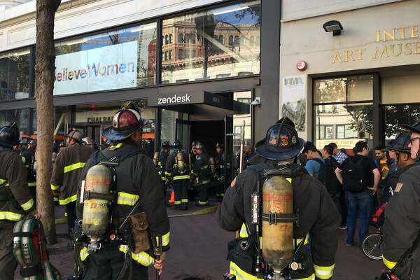 Zendesk HQ in San Francisco evacuated after fire, Market Street partially shut down