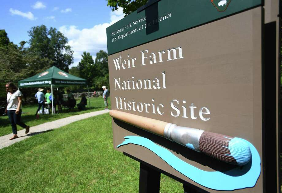 Weir Farm National Historic Site, in Wilton and Ridgefield, Conn. is hosting a Write Out on Sunday, Oct. 20, 2019. The site was the summer residence of American Impressionist painter J. Alden Weir. Photo: Brian A. Pounds / Hearst Connecticut Media / Connecticut Post