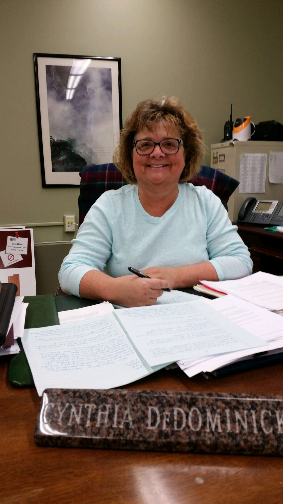 Cynthia DeDominick will retire as superintendent of the Lansingburgh school dsitrict in December.