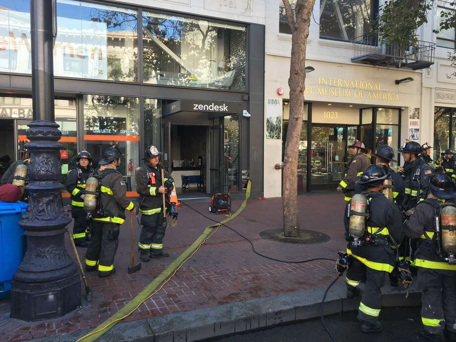 SF basement fire extinguished at Zendesk headquarters on Market Street