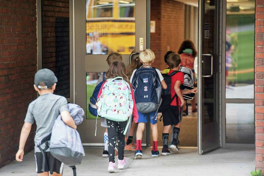 With student orientation still in flux, students won't return back to school until Aug. 31. Photo: Bryan Haeffele / Hearst Connecticut Media / BryanHaeffele