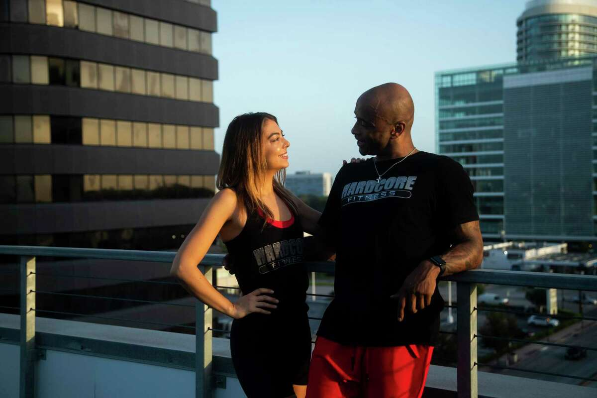 Wayne and Claire Davis own HardCore Fitness.