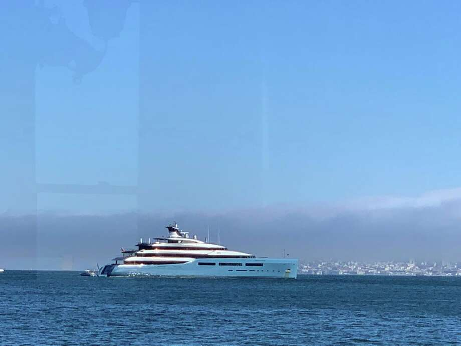 The Monster Yacht Of A Sports Team Owner Spotted In Sf Bay