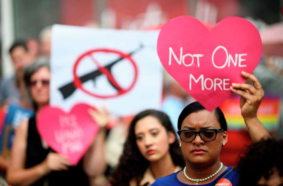 The vast majority of Americans support universal background checks for gun sales, but the NRA has opposed this reform and others. Photo: JOHANNES EISELE /AFP /Getty Images / AFP or licensors