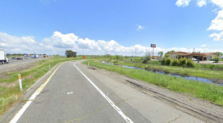 A view of Yolo Fruit Stand on I-80 between Davis and Sacramento. Photo: Google Street View