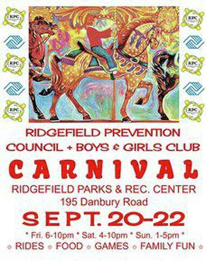 The Ridgefield Prevention Council (RPC) and the Ridgefield Boys & Girls Club will host the annual Ridgefield carnival Friday, Sept. 20 through Sunday, Sept. 22. Photo: Contributed Photo.