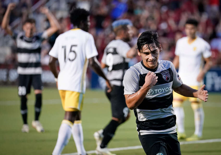 San Antonio FC midfielder Cristian Parano was named United Soccer League Championship player of the week for the second time in three weeks. Photo: Darren Abate/Contributor