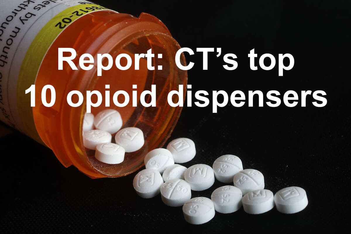 Connecticut pharmacies dispensed more than 675 million opioid-based pills between 2006 and 2012, according to a Washington Post database. >>Click through to see the top 10 opioid dispensers in CT