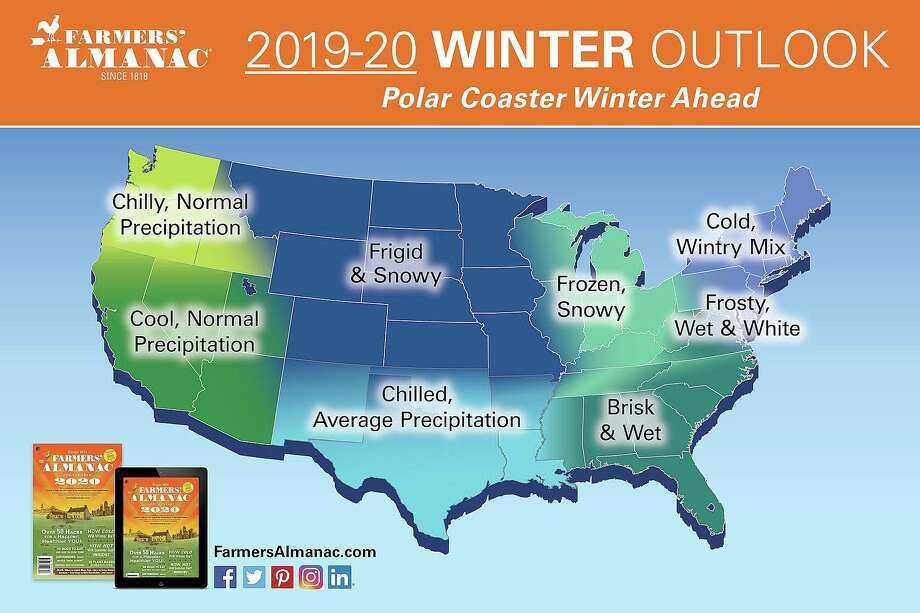>>What winter was like the year you were born. A photo provided in the summary of the 2020 Farmers' Almanac. Photo: Contributed Photo / Farmers' Almanac