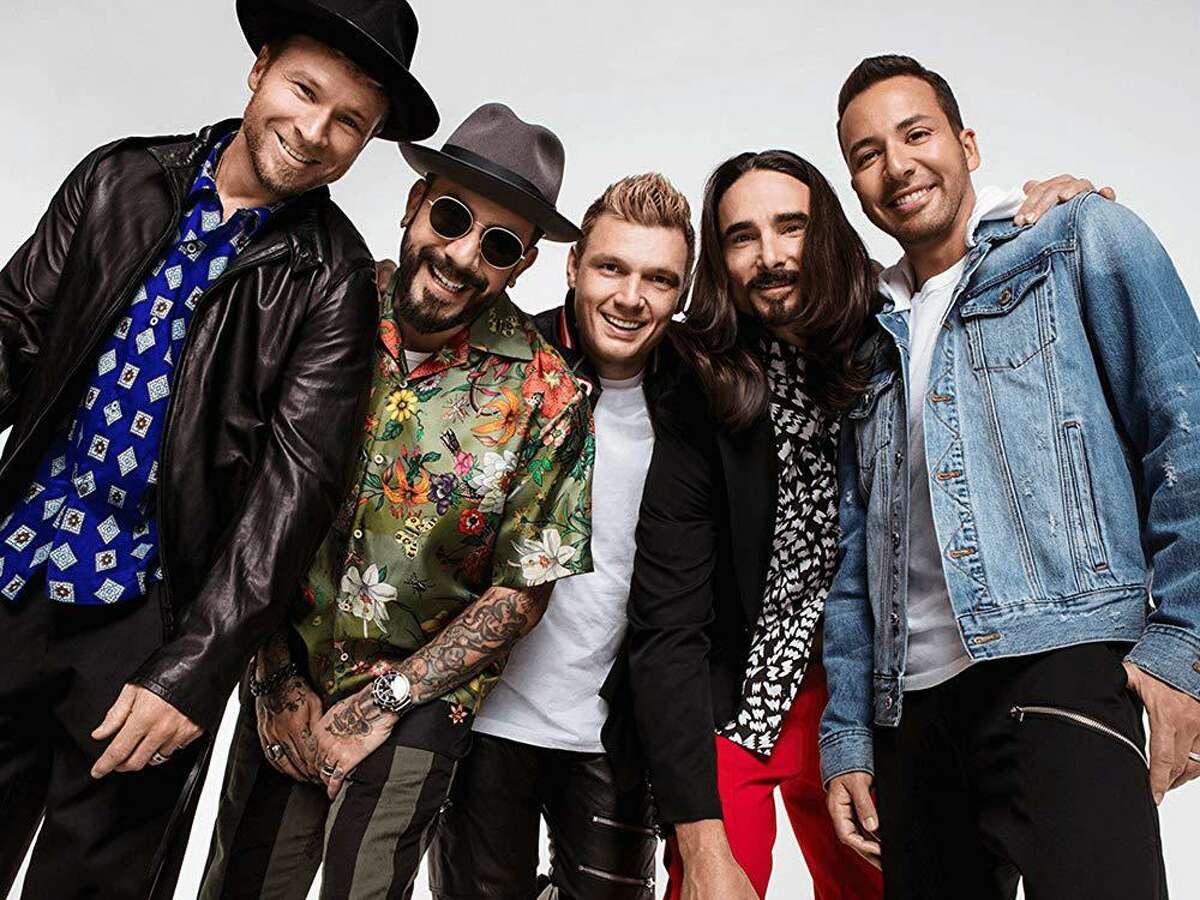 The Backstreet Boys' DNA World Tour comes to Houston this Saturday.