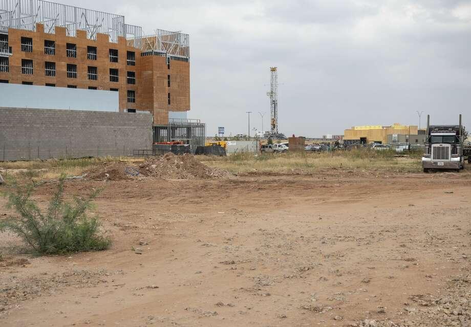 Empty land on Westridge, seen 08/27/19 behind Sam's Club will soon be home to a new business. Tim Fischer/Reporter-Telegram Photo: Tim Fischer/Midland Reporter-Telegram
