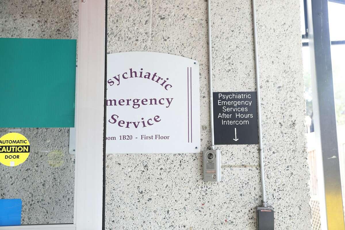 San Francisco General Hospital treats many of the city's mentally ill residents who lack insurance.