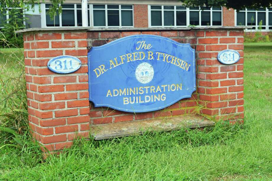 The Dr. Alfred B. Tychsen Administration Building at 311 Hunting Hill Ave. houses the Middletown Board of Education offices. Photo: Hearst Connecticut Media File Photo