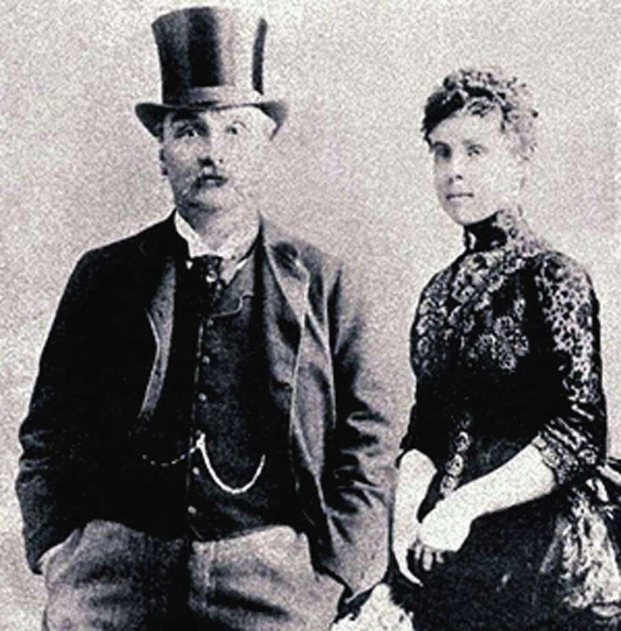 "The New Milford Historical Society & Museum will soon play host to an exhibit titled ""Florence Maybrick: The Mystery of the Dress."" Florence and James Maybrick are shown above. Photo: Courtesy Of New Milford Historical Society / The News-Times Contributed"