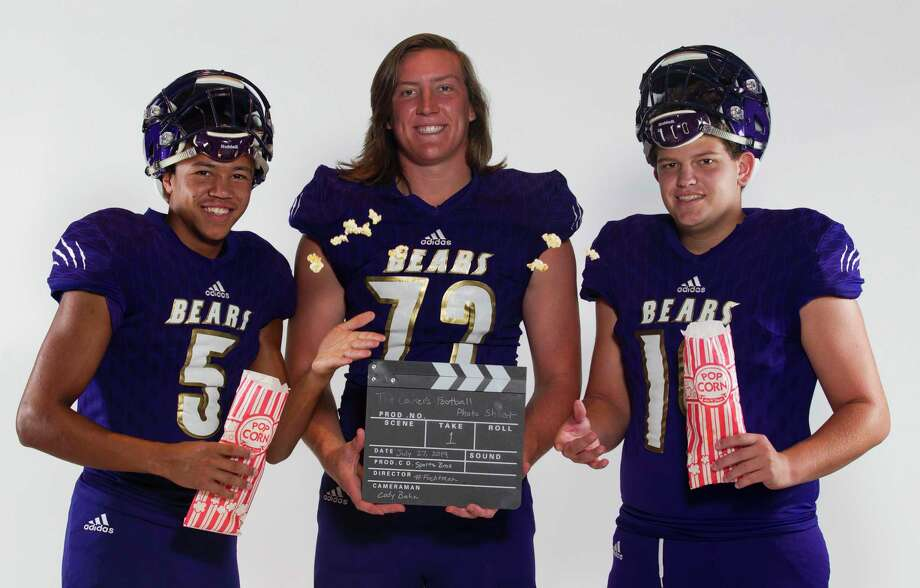 From left: Quincey Paulson, Trey Phillippi and Cole Morris are seniors leaders for Montgomery heading into the season.. Photo: Jason Fochtman, Houston Chronicle / Staff Photographer / Houston Chronicle