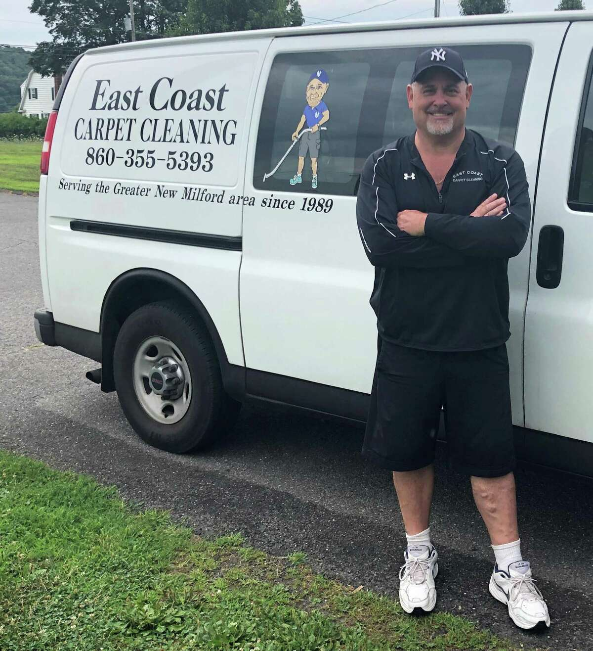 Doug Skelly, owner of East Coast Carpet & Upholstery Cleaning in New Milford, is celebrating the 30th anniversary of his business.