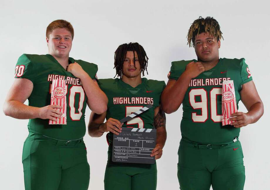 From left: Jett Duncan, Bryeton Gilford and Caleb Fox are all returning impact players for The Woodlands this season. Photo: Jason Fochtman, Houston Chronicle / Staff Photographer / Houston Chronicle