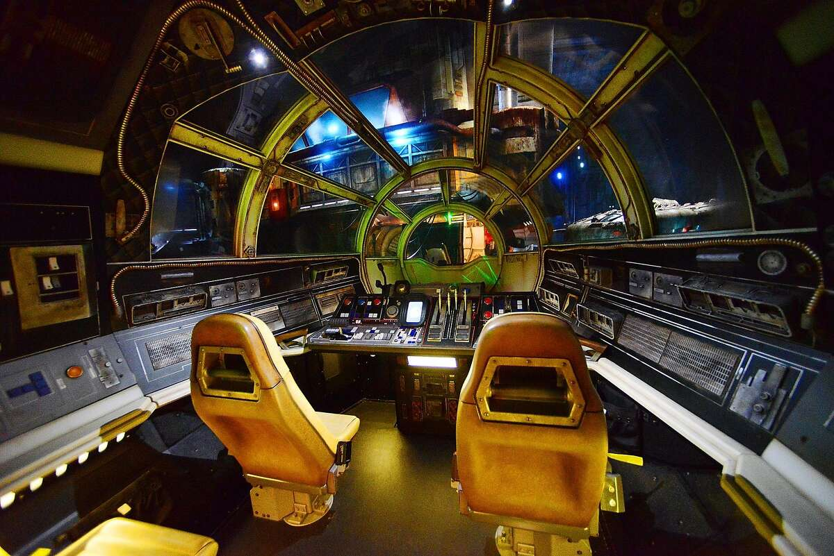 General view of the Millennium Falcon: Smugglers Run ride at the Star Wars: Galaxy's Edge Walt Disney World Resort Opening at Disneys Hollywood Studios on August 27, 2019 in Orlando, Florida. (Photo by Gerardo Mora/Getty Images)