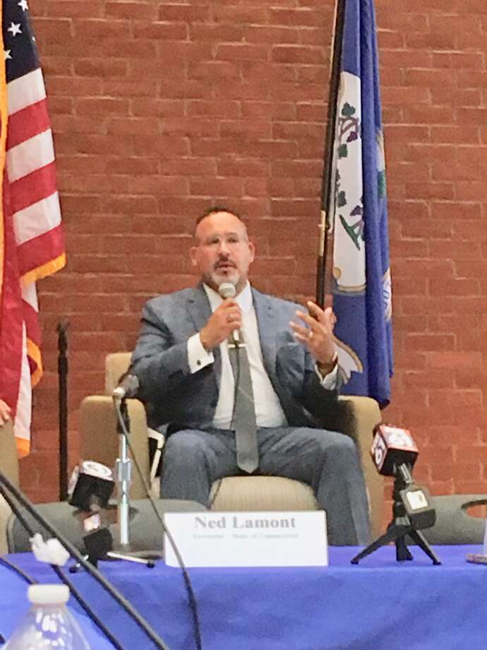 Connecticut Education Commissioner Miguel A. Cardona in Meriden in August. Photo: File Photo