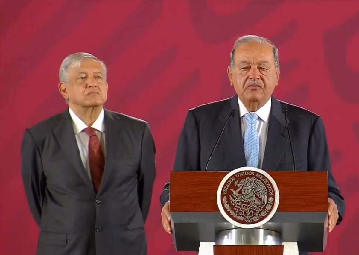 Carlos Slim, a Mexican billionaire whose company Grupo Carso was the first of the pipeline companies to reach an agreement with the government, said the agreement will give Mexico access to the cheap natural gas.