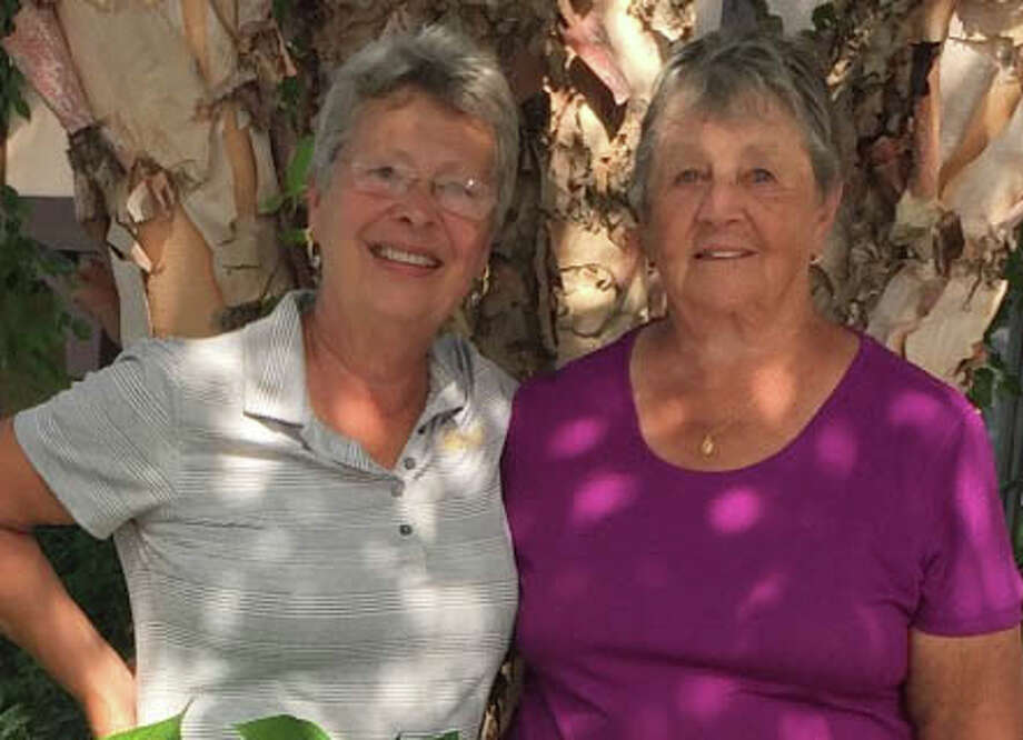 NEWGA Gail Sykes Memorial Tournament low net honors went to Joan Taylor and Maxine Tucker, both of Ballston Spa, with a 61 on Aug 14, 2019. (Provided)