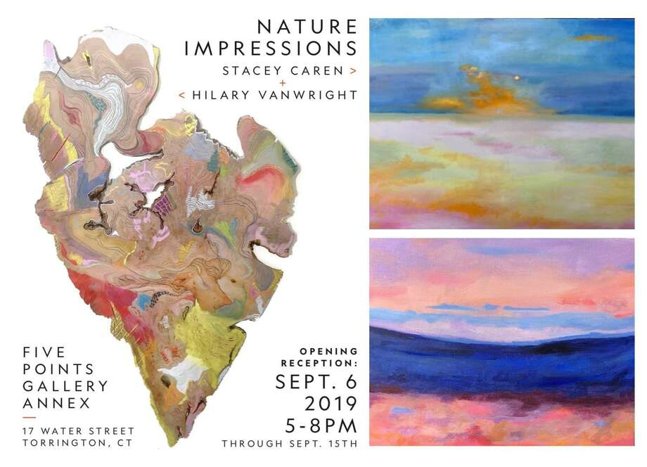 Nature's Impressions opens Sept. 6 at Five Points Gallery in Torrington. Photo: Contributed Photo