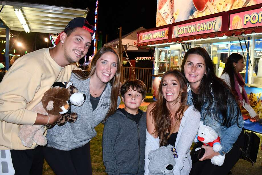 The annual St. Leo Fair kicked off in Stamford on August 27, 2019. Fair goers feasted on everything from pasta and pizza to clam chowder and seafood as well as traditional carnival food. Families also enjoyed rides and games. Were you SEEN on opening night? Photo: Vic Eng / Hearst Connecticut Media Group